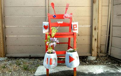 Make a Fun Robot Plant Holder for Kids