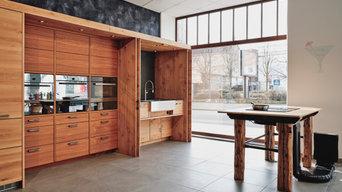 Beispiel einer fertiggestellten Küchen