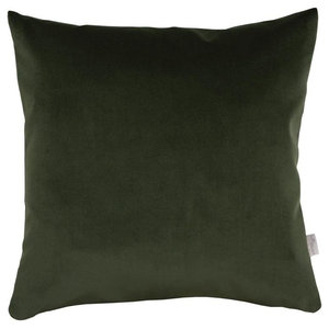 A.U. Maison Evergreen Velvet Basic Cushion Cover, 70x70 cm