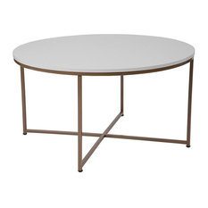 Flash Furniture   Round Contemporary Coffee Table   Coffee Tables