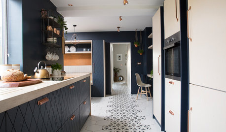 9 Ways Designers Made Ply the King of These Kitchens