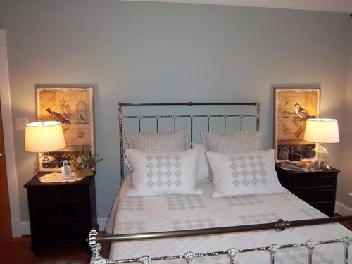 How High To Hang These Art Pieces Over Nightstands