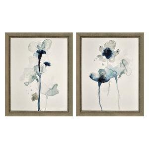 Midnight Blossom I, Set of 2