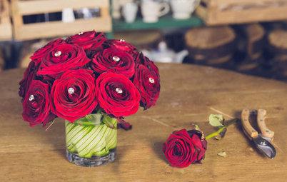 DIY : Une seconde vie pour votre bouquet de roses rouges