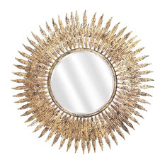 EMDE Gold-Leaf Sun Mirror
