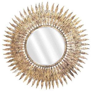 EMDE Gold-Leaf Sun Mirror