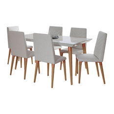 "7-Piece Utopia 62.99"" Dining Set  2-107452109251"