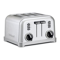 Cuisinart Metal Classic Toaster, 4 Slice, Brushed Stainless Steel