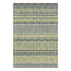 "Dynamic Rugs Inc. - Infinity Area Rug, Rectangle, Multi, 5'3""x7'7"" - Area Rugs"