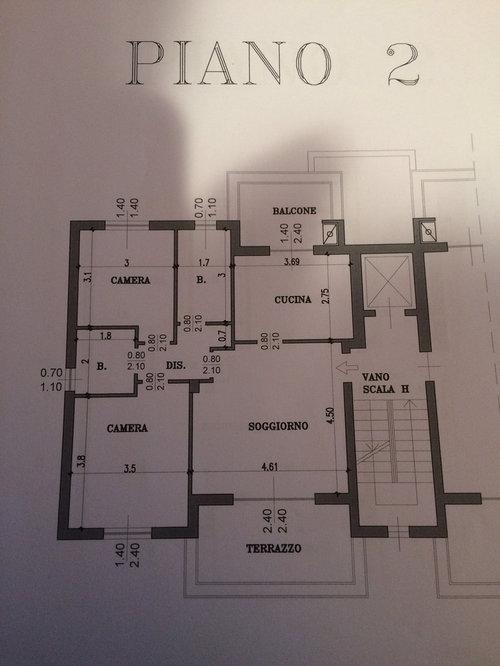 Chiedo aiuto per posizione scala interna - Case a due piani interni ...