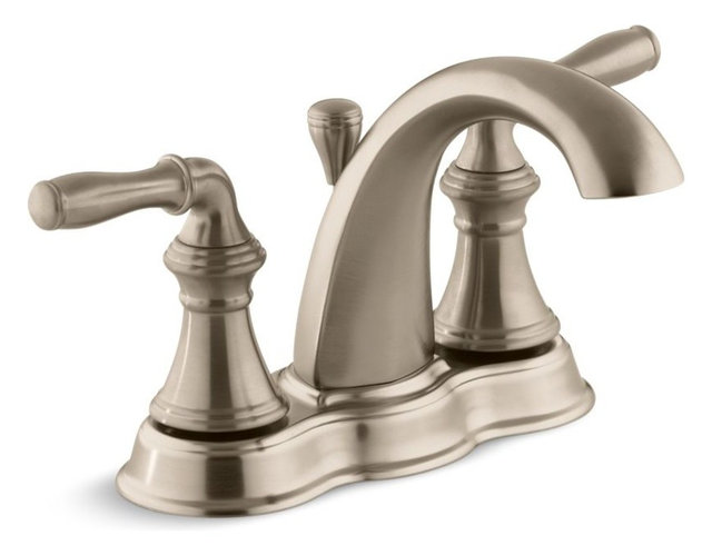 Kohler Devonshire Centerset Bathroom Sink Faucet With Lever Handles