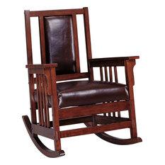 Coaster Home - Coaster Home Rocker, Brown - Rocking Chairs