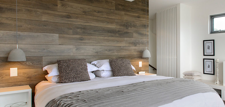 Shop Houzz: Wood Paneling, Wallpaper And Flooring Sale