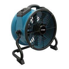 XPOWER X-34TR Variable Speed Sealed Motor Industrial Axial Fan with Timer