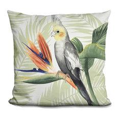 Avian Paradise I Decorative Accent Throw Pillow