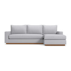 Apt2B   Harper Sectional Sofa, Stone, Left   Sectional Sofas