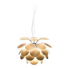 Marset Discoco Pendant Light, Beige, Small