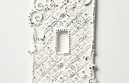 Tin Roof Switch Plate, Single