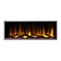 """Dynasty Harmony BEF Built-in Linear Electric Fireplace, 64"""" Wide"""