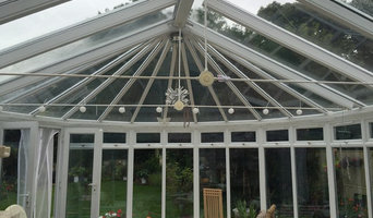 Conservatory roof windows tinted