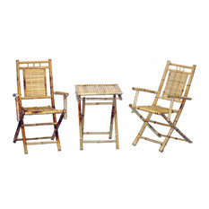3 Piece Chair And Small Table Bistro Set