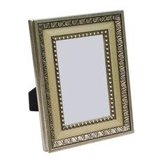 "Ravenna Frame, Silver And Ornate Pattern, 8""x10"""