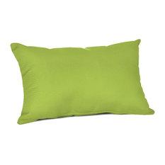 Sunbrella Lumbar Pillow, Canvas Macaw