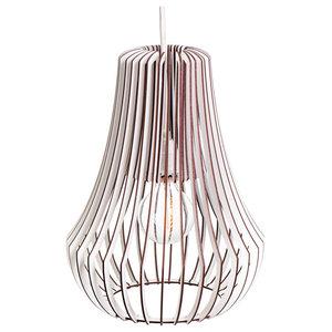 DIY Roka Cage Lamp, White