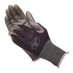 Showa Atlas Nitrile Gloves, Black, Medium