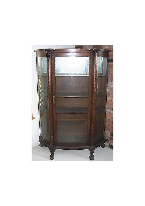 New Use For Antique China Cabinet