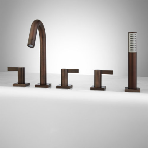 flair roman tub faucet and hand shower bathtub faucets