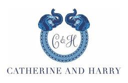 Elephant Love Ring Tray, Blue