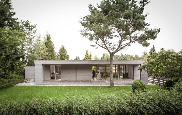 モダン  by 2D+ Architekten