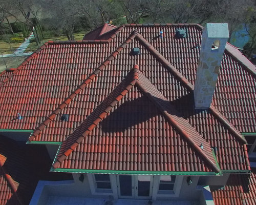 Synthetic Spanish Barrel Roof   Brava Roof Tile