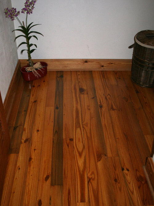 Old Florida Heart Pine Wood Flooring