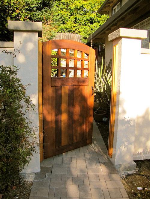 Portland Western Red Cedar Wood Gates