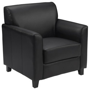 Leather Chair, Black