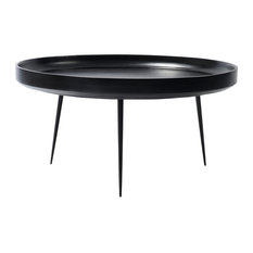 Mater Danish Modern Bowl Coffee Table Xl Black