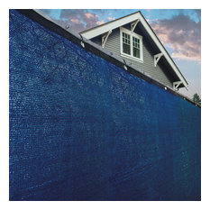 Outdoor Fence Privacy Windscreen, 6'x25', Blue