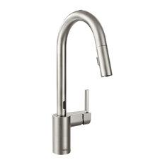 Moen Align 1-Handle High Arc Pulldown Kitchen Faucet, Spot Resist Stainless