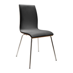 Tao Bentwood Chairs, Black, Set of 2