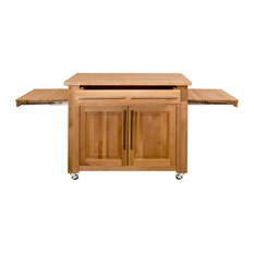 Pull out table kitchen islands carts houzz pull out table clear all 1st avenue southlake wooden office desk kitchen islands and kitchen carts watchthetrailerfo