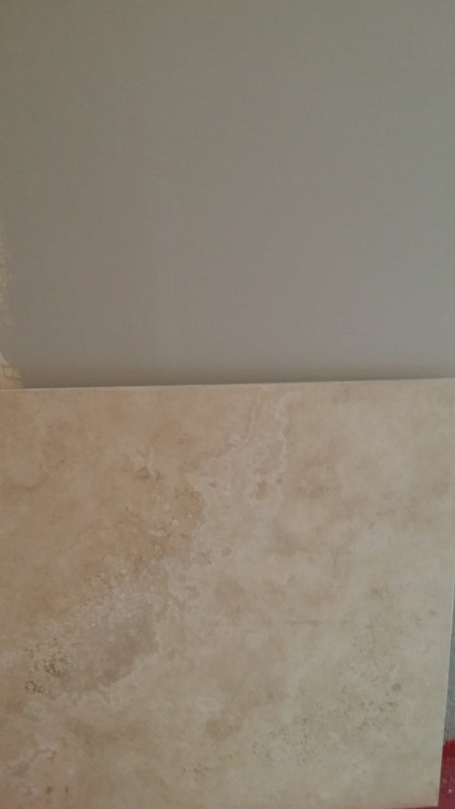 Need Help With Wall Color To Go With My Travertine Floor