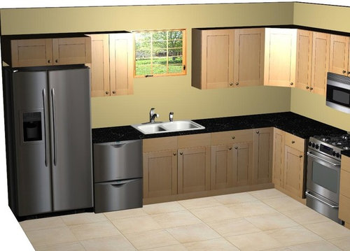 Kitchen Appliance Placement Need Ideas