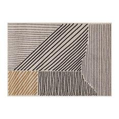 Casa Striped Area Rug, 120x170 Cm