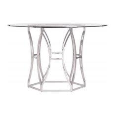 Inch Round Pedestal Dining Tables Houzz - 48 round white pedestal table