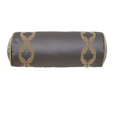"Walton Charcoal/Bronze 6""x15"" Decorative Pillow"