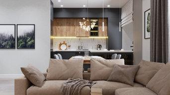 Проект трехкомнатной квартиры в новостройке #проект_давыдовская
