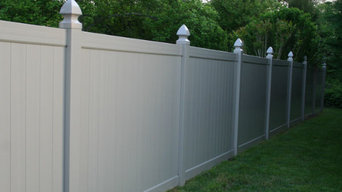 Fence Knoxville Adobe Vinyl Privacy Fence