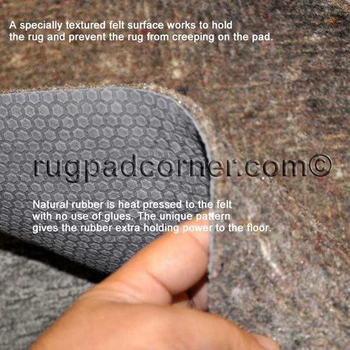Felt Rug Pads For Hardwood Floors rug mats for hardwood floors non slip rug pads for hardwood floors rug pad Felt And Rubber Rug Pad Safe For All Hardwood Floors